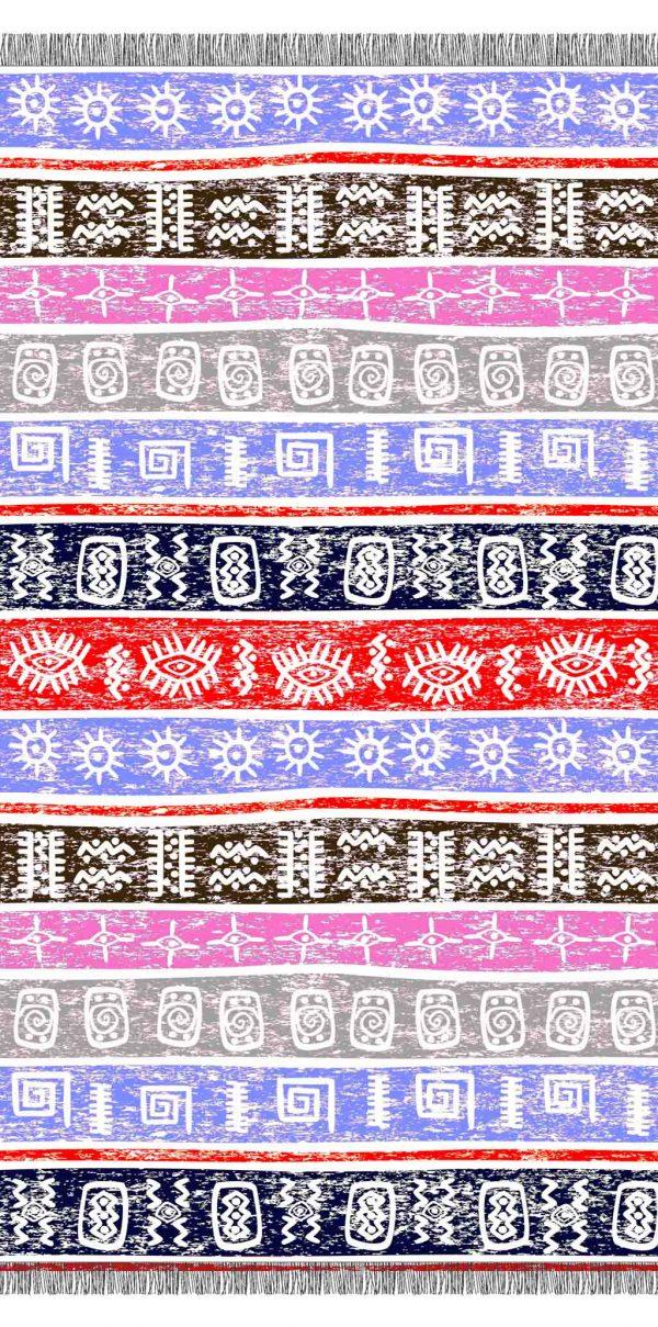 Greek Summer pestemal futa pattern